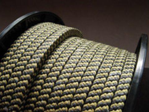 Șnururi din fibră sintetică aramidică
